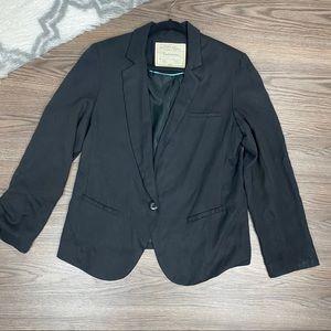 Anthro Cartonnier Black Blazer Size 12